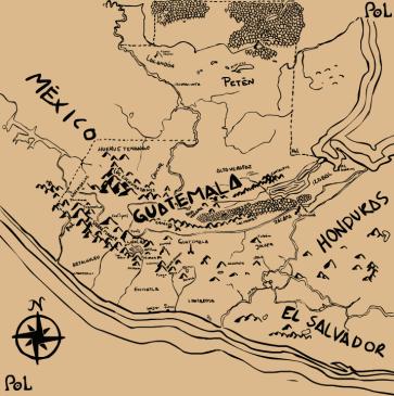 Mapa De Guate