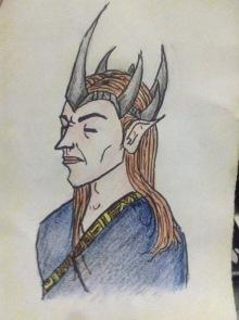 Sauron Sketch